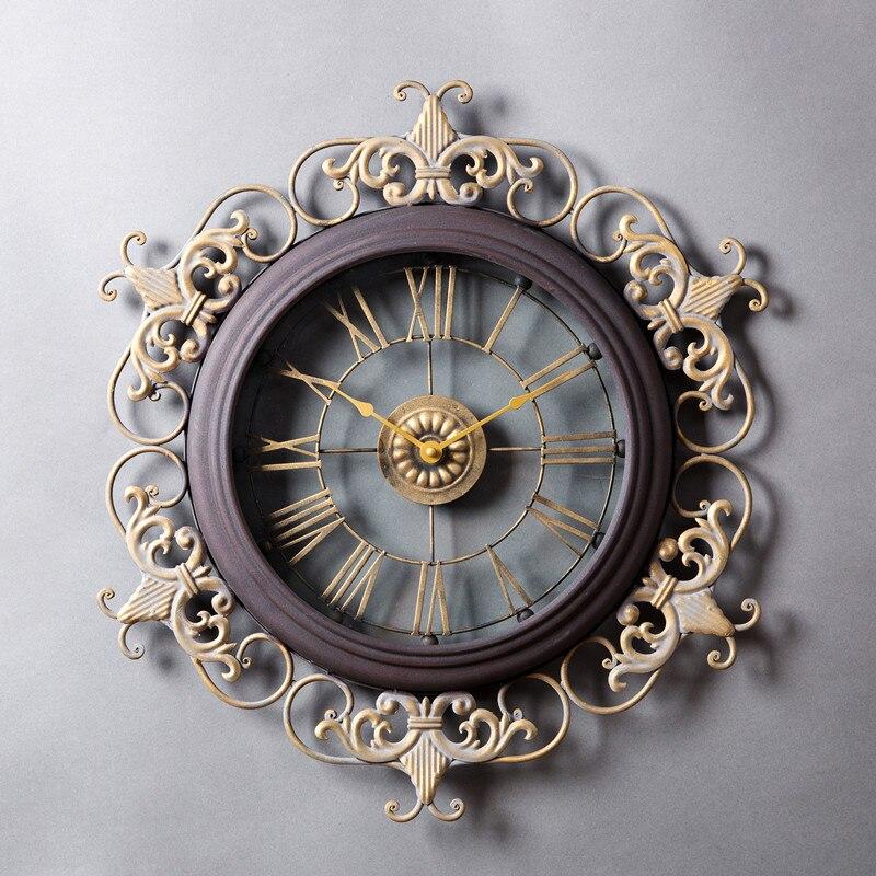 Horloge De Mode Horloge Murale Grande Décoration Horloge Murale