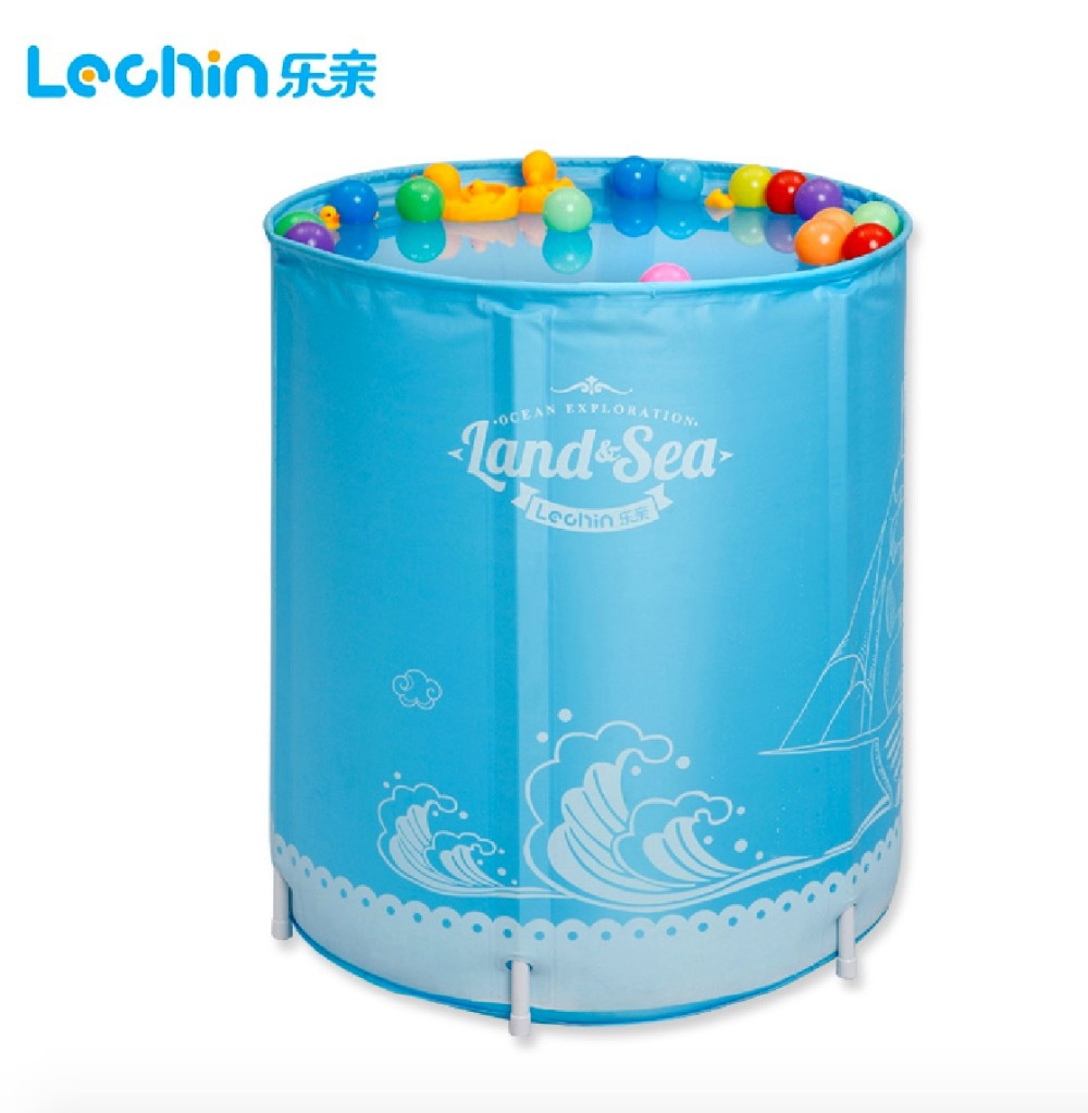Size:70*80cm,With Neck Ring,Water Thickening Folding Tub ,Child ...