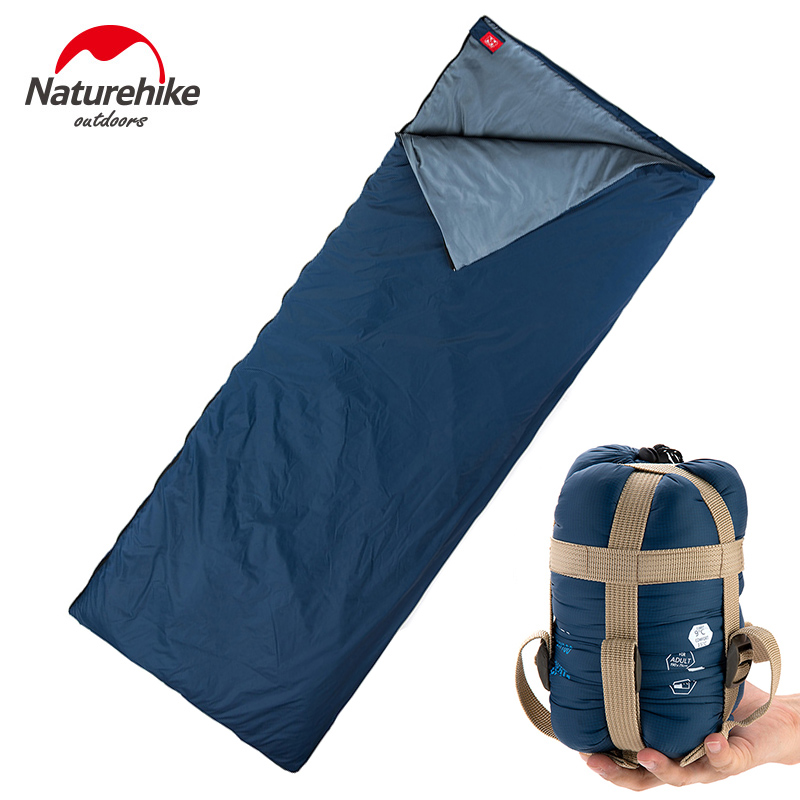 цены POINT BREAK NH15S003-D Outdoor Camping Climbing Ultralight Envelope Type Sleeping Bag Indoor Lunch Break Waterproof Sleeping Bag
