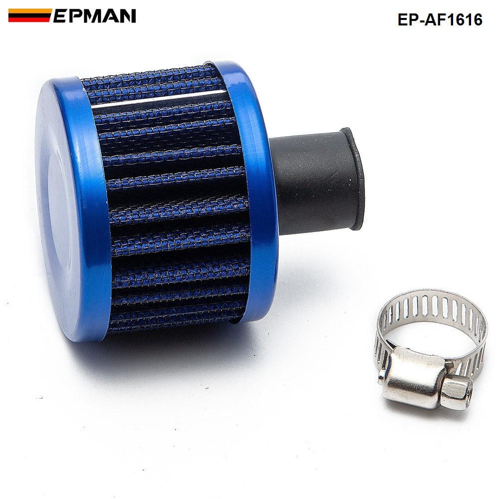 1 шт. Универсальный потока воздуха фильтр 51*51*40(Шея: 11 мм) изменение воздушного фильтра для BMW E30 3-ей серии EP-AF1616-1P - Цвет: Синий