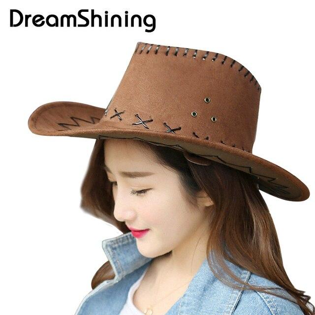 DreamShining 16 Colors Men s Cowboy Women Hat Sun Hat Collapsible Straw Hat  Travel Cowboy Hat Face Protection Summer Belt Cap de116cdb2e7