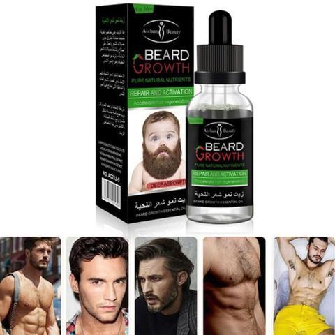AICHUN Professional Men Beard Growth Enhancer Facial Nutrition Moustache Grow Beard Shaping Tool Beard care products Pakistan