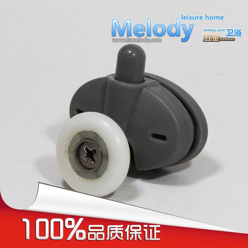 Me-008 Bottom Single Wheel Shower Door Roller Shower Room Accessories Bathroom Fittings C-C 26mm