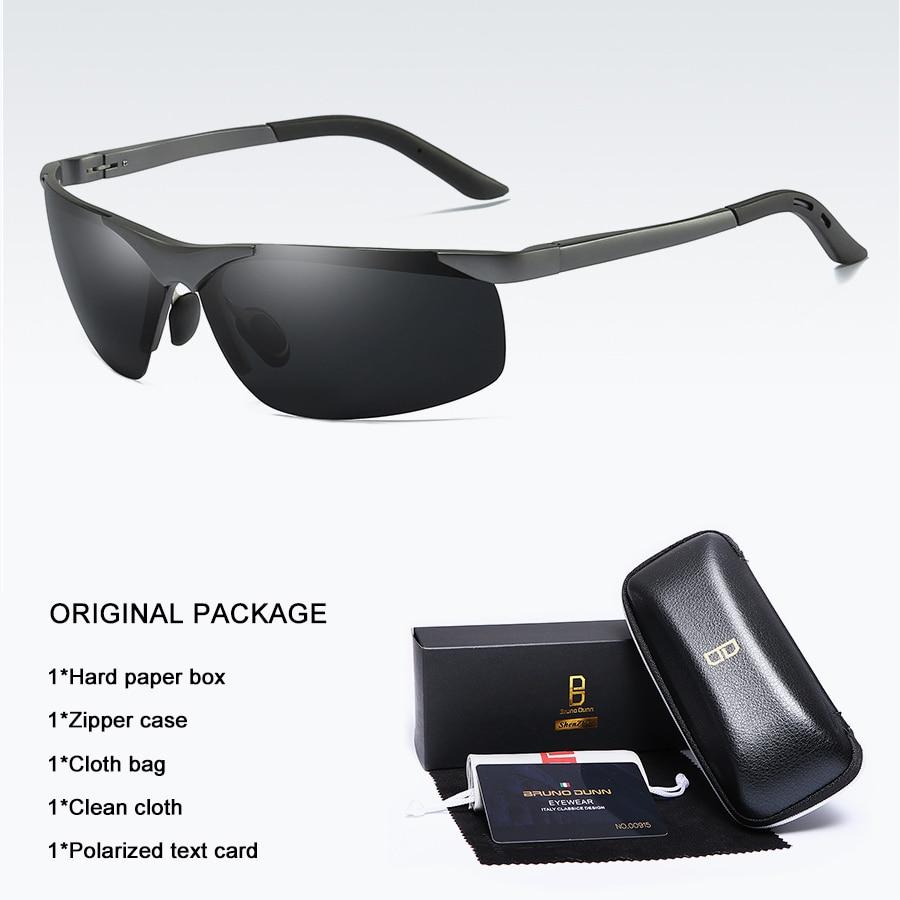 Bruno dunn 2020 Men Sunglasses Polarized uv400 high quality oculos de sol masculino oversized sunglases lunette soleil homme 5
