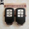Автомобильный Дистанционный ключ без ключа  умный ключ 433 МГц с чипом ID47 для Honda Civic CITY 10th 2015 2016 2017 2018 2019 2020 год  Автомобильный ключ
