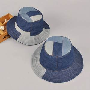 76dd8e86380 Beckyrui 2018 Male Outdoors Headwera Men Hip Hop Fisherman Hats Women  Summer Fashion Sun Caps Adult Denim Patched Bucket Hats