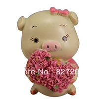 Nicole R0788 Love Pig Baby Sugar Carving Salt Sculpture Mould Resin Flower Mould Embossed Mould Sculpture