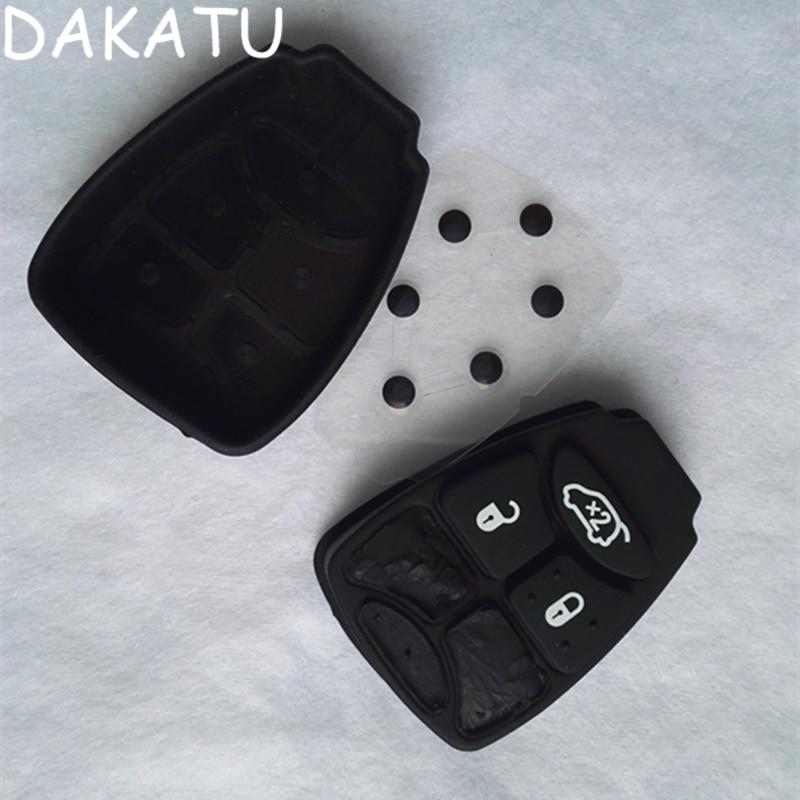 DAKATU Replacement Remote Rubber Button Key Pad 3 Button