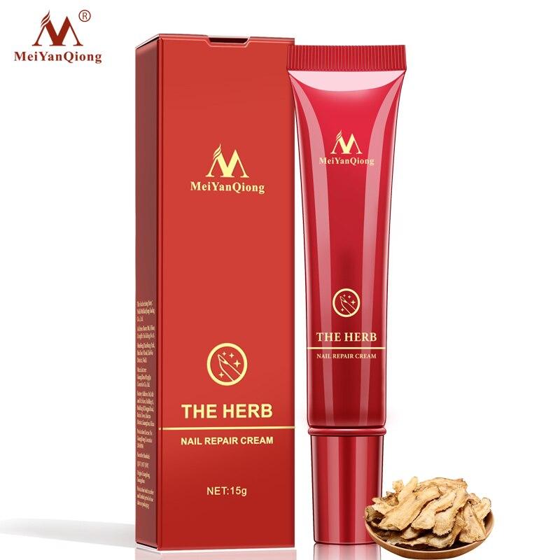 MeiYanQiong 1Pcs Herbal Anti Fungal Nail Treatment Cream Toe Nail Fungus Treatment Onychomycosis Paronychia Toe Nail Infection in Nail Treatments from Beauty Health
