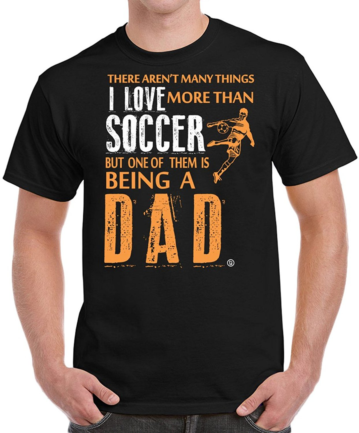 New Men Summer Tops Casuals Shirts Soccerite Dad Fathers Day Gifts Birthday Gifts I Love Soccerite Men's T-shirt