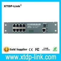 Free Shipping Shenzhen Network Equipment Manufacturer Intelligent Wire Distribution Box 8 Port Router Modules OEM