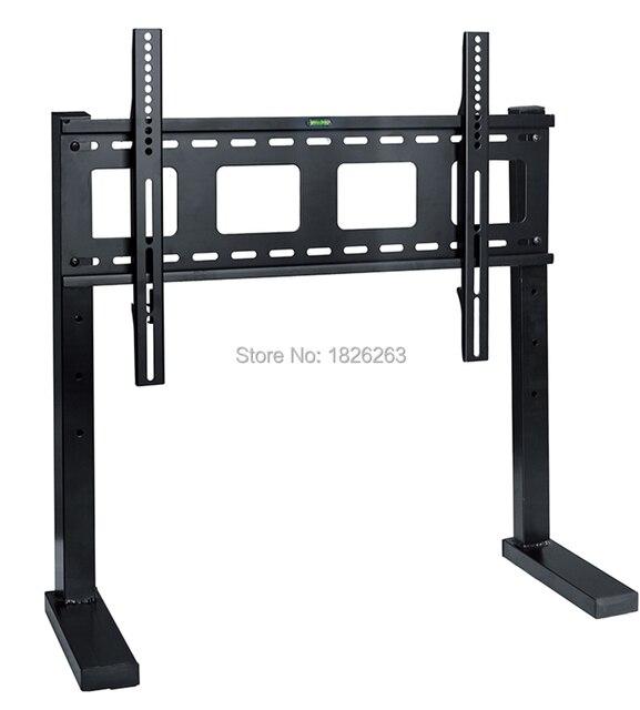 Ağır 32 75 inç LED LCD TV montaj standı VESA 600x400mm için 800x500mm maks. Yükleme 60kgs DSK780