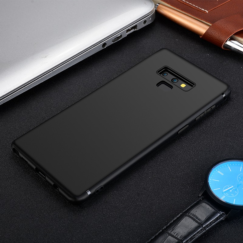Case For Samsung Galaxy Note 8 9 10 For Samsung S9 S10 Plus S20 Ultra Case Luxury Silicone Matte Soft TPU Cover For Galaxy Note9