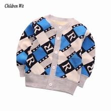 Новинка; сезон осень-зима; вязаная бархатная теплая верхняя одежда для малышей; пальто; свитер для новорожденных мальчиков и девочек; одежда для малышей