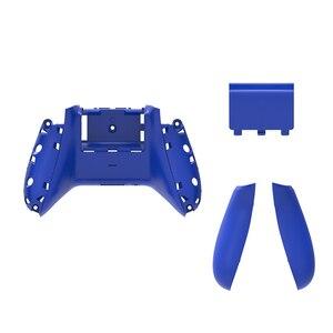 Image 4 - RETROMAX pour Xbox One étui mince dos avec poignées et couvercle de batterie pour Xbox One mince contrôleur sans fil coque arrière 10 couleurs