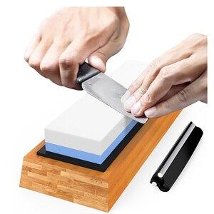 Image 3 - Premium Sharpening Stone 2 Side Grit 1000/6000 Whetstone