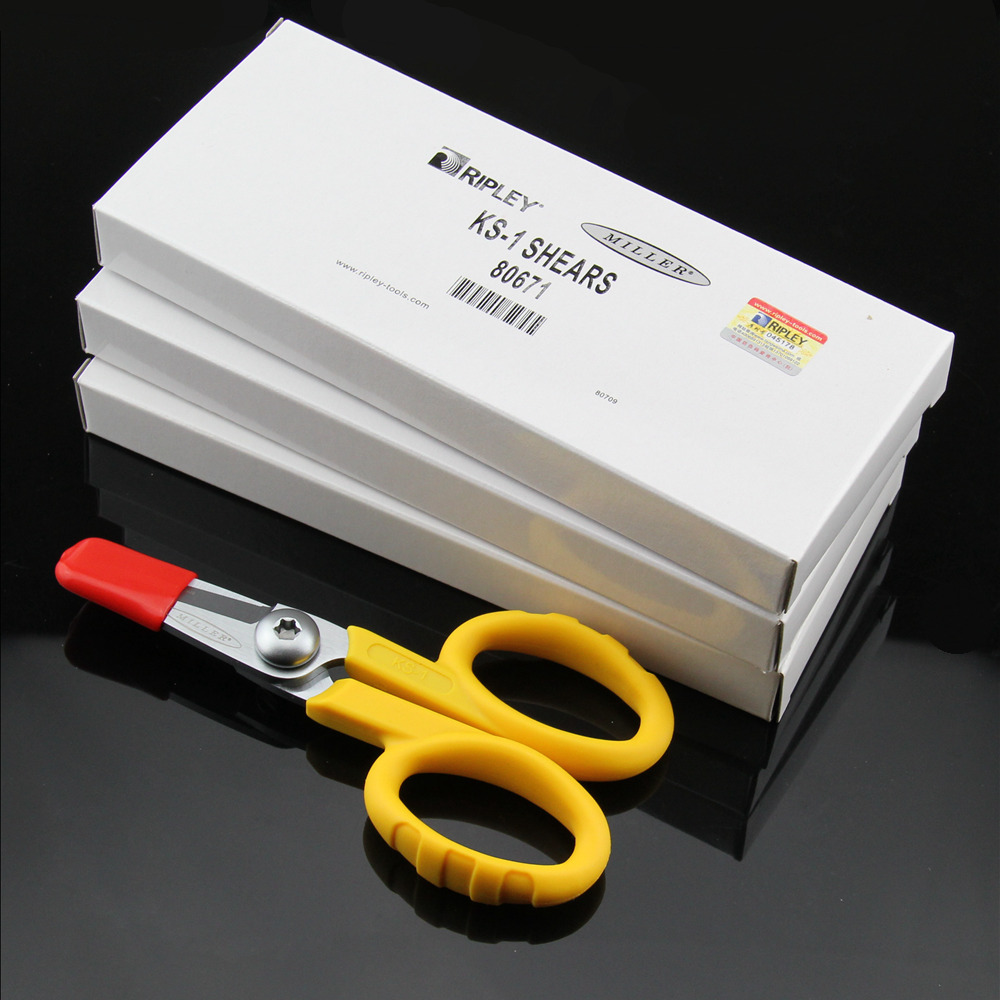 RIEPLAY Miller Tools Fiber Optic Miller KS-1 Kevlar Shears / Kavlar Scissor / Kavalr Cutter