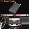 Car Styling 7 Inch GPS Navigation Screen Steel Protective Film For Toyota Prado Control of LCD Screen Car Sticker