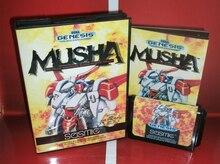 MUSHA con Caja y Manual para Cartucho de juego Sega MD Megadrive Génesis del sistema