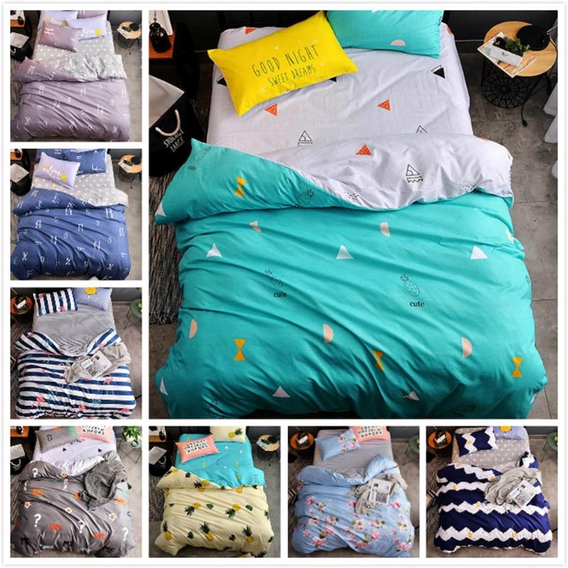 Kids Cotton Soft Skin Fabric Bedding Set 3/4 pcs piece Bed Linen 1.2m 1.35m 1.5m 1.8m 2m Duvet Cover Single Twin Queen King SizeKids Cotton Soft Skin Fabric Bedding Set 3/4 pcs piece Bed Linen 1.2m 1.35m 1.5m 1.8m 2m Duvet Cover Single Twin Queen King Size