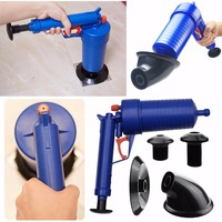New High Pressure Toilet Floor Drain Canalisation Air Power Plunger Blaster Pump Cleaner Home Cleaning Tools