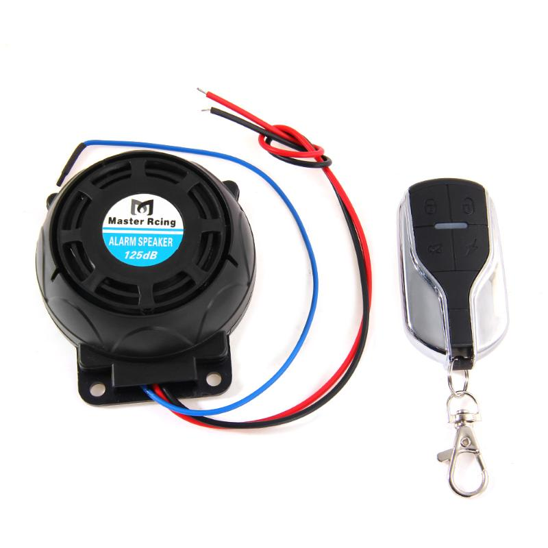 Motorcycle Anti-theft Security Alarm System Burglar Alarm Remote Control