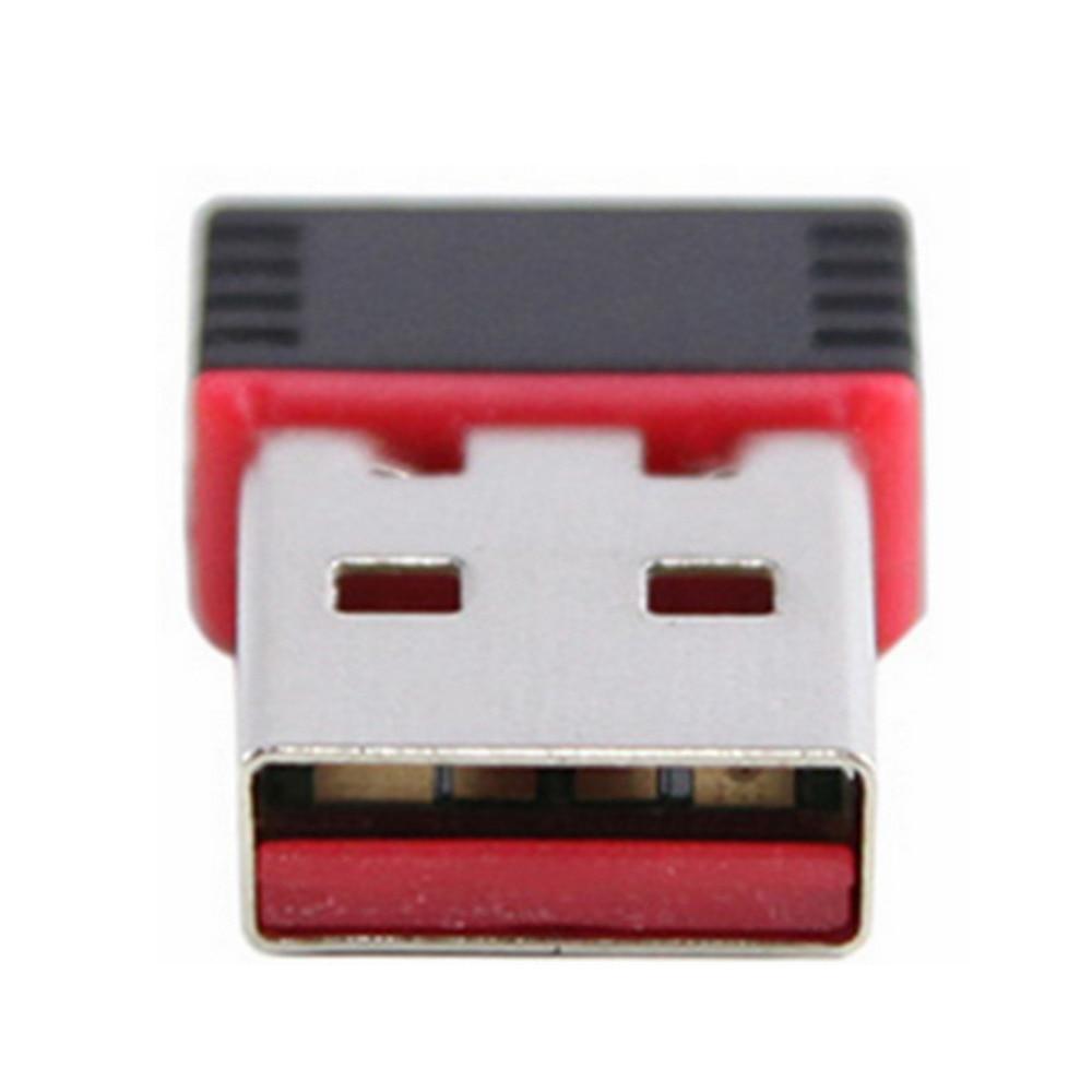 Mini PC Adaptador WiFi 150M USB WiFi antena Computadora inalámbrica - Equipo de red - foto 6