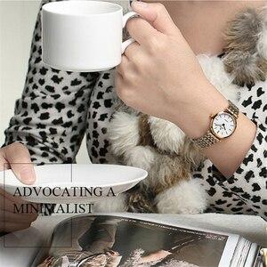 Image 5 - Relogio Feminino BUREI 브랜드 여성 패션 시계 숙녀 럭셔리 방수 크리스탈 사파이어 석영 손목 시계 Reloj Mujer 2020