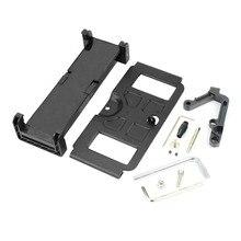 Black Mobile Phone Flat Bracket and Metal base for DJI MAVIC AIR  MAVIC PRO SPARK Remote Controller Parts