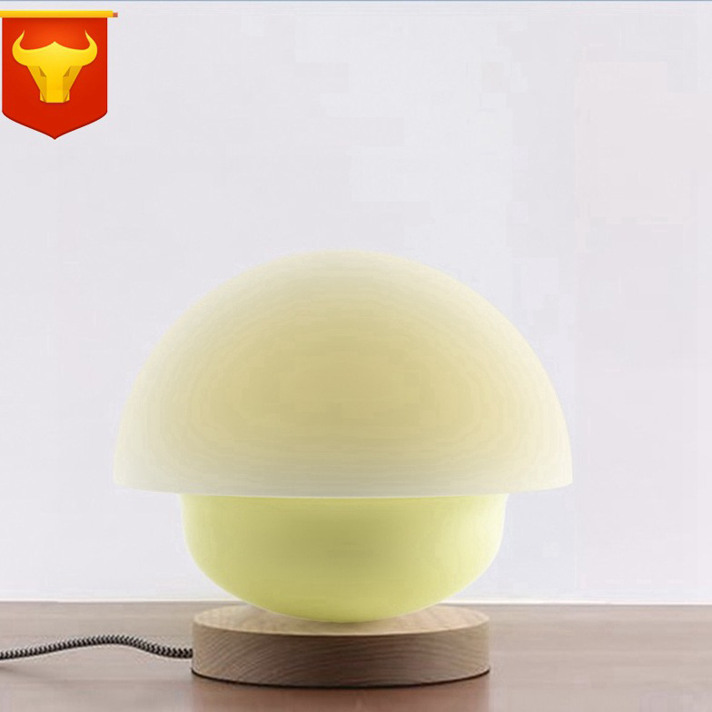 1pc Rechargeable Color Changing LED USB Nightlight Mushroom Touch-sensitive Atmosphere Table Night Light For Bedroom Decoration стоимость