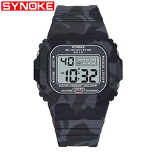 SYNOKE Outdoor Sport Watch Men 3Bar Waterproof Watc
