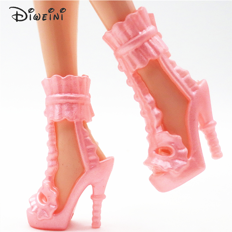 DIWEINI-12PCS-Shoes-for-Barbie-Dolls-Toys-Fashion-Doll-Accessories-Baby-Toys-Girls-Gift-Princess-fairy-tale-shoes-4