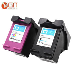 2pk 60XL Refilled Ink Cartridges Replacement for HP 60 XL
