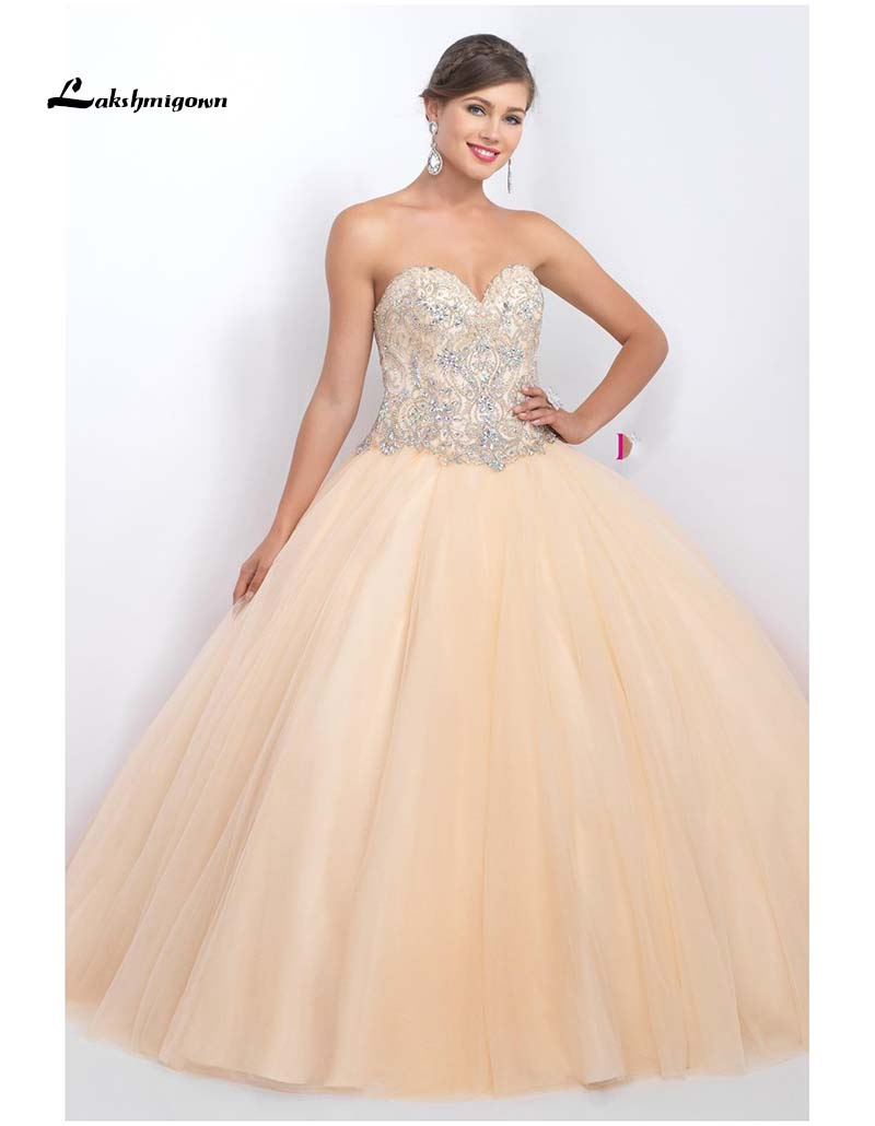 Popular Champagne Quinceanera Dresses-Buy Cheap Champagne ...