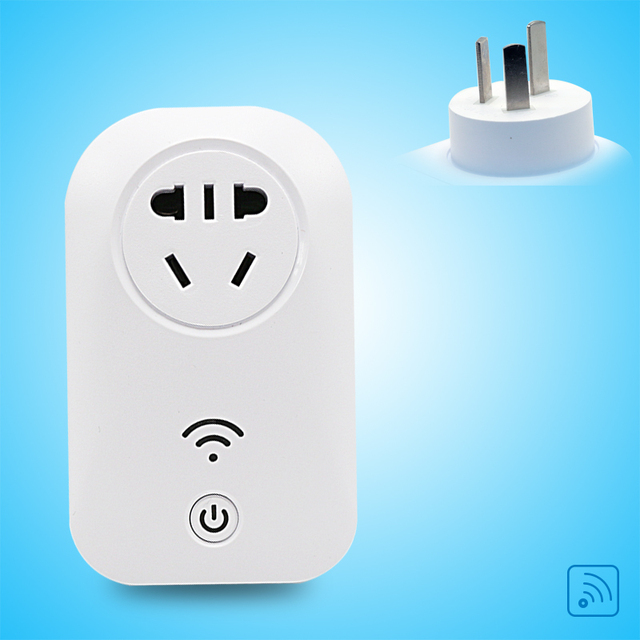 Free Shipping Smart Home CN Electricity Socket Remote 10A Power ...
