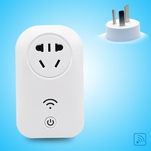 Free Shipping Smart Home CN Electricity Socket Remote 10A Power Outlet Switch Plug Smart Wall Remote Sockets