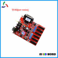 TF-MU(2015)/TF-MU LED display screen controller card serial and USB port LED card
