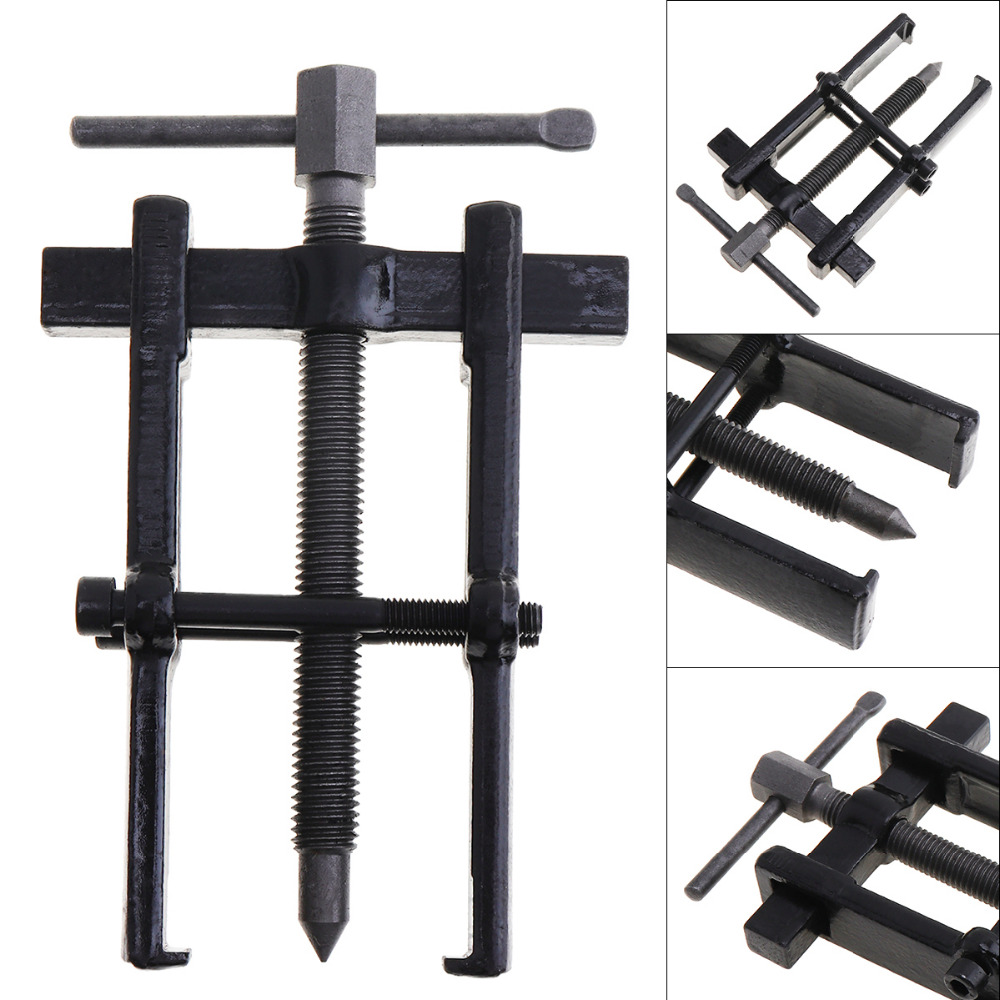 2 / 3 / 4 / 6 / 8 Inch High-carbon Steel Two Claw Puller Separate Lifting Device Strengthen Bearing Rama with Screw Rod2 / 3 / 4 / 6 / 8 Inch High-carbon Steel Two Claw Puller Separate Lifting Device Strengthen Bearing Rama with Screw Rod