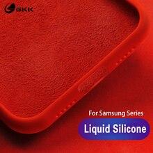 GKK Original Case for Samsung galaxy A50 A30 A60 A70 A40s Liquid Silicone Soft TPU Baby-skin Cover