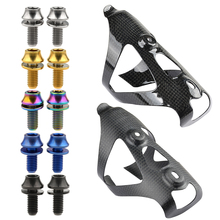 Titanium Bolt Water-Bottle-Cage M5x12 Screw Bicycle Road-Bike Wanyifa 2pcs MTB with Washer