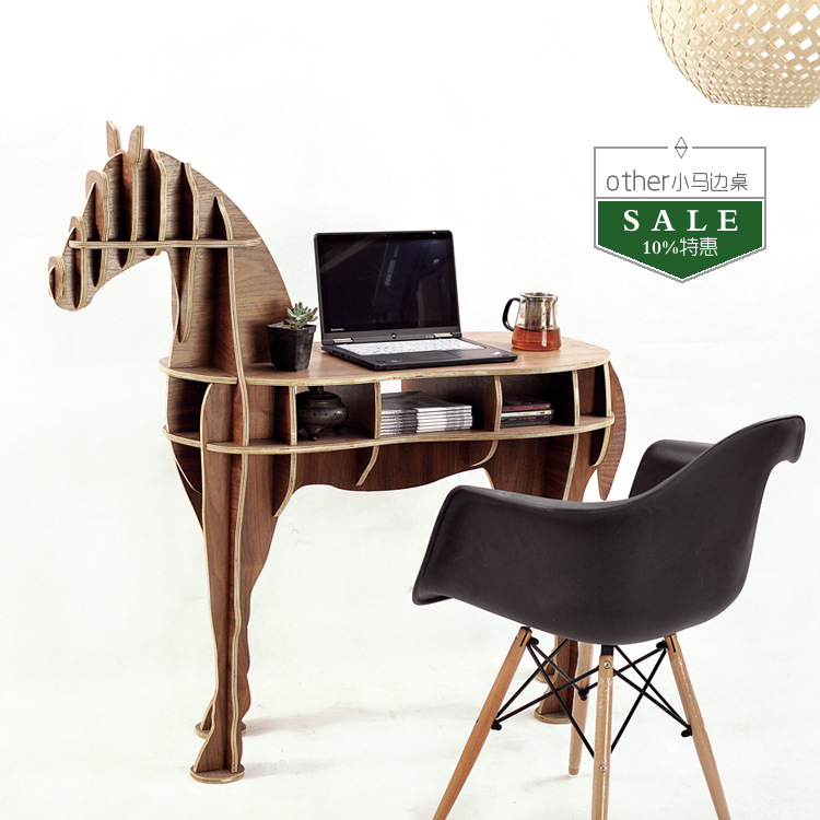 Amazing FREE SHIPPING Factory Wholesale European Arts Crafts Home Decoration Wooden  Horse Simulation Wood Furniture Coffee Table In Coffee Tables From Furniture  On ...