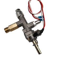 Earth Star Propane Gas Oven Spare Parts Main Control Alumium Valve inlet G1/4 Left Thread with Micro Switch