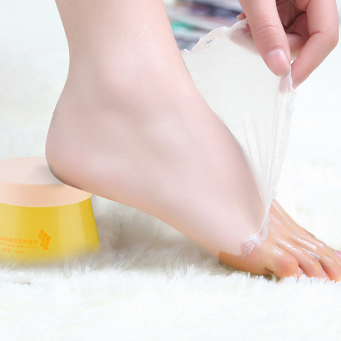 Honey Paraffin Wax Exfoliating Whitening Foot Mask Skin Care Paraffin Bath Moisture Wrinkle Removal Firming Hand Care Wax Bath Multan