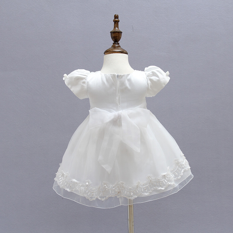 BBWONLIN Baby Girl Ristimine kleit 0-1 aastase sünnipäeva kleit - Beebiriided - Foto 5