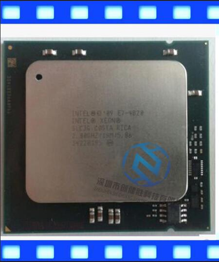 E7-4820 Best quality Original E7 4820 E7-4820 2.0GHz 8-Core 18MB SmartCache DDR3 1333MHz LGA1567 TPD 105W 1 year warranty