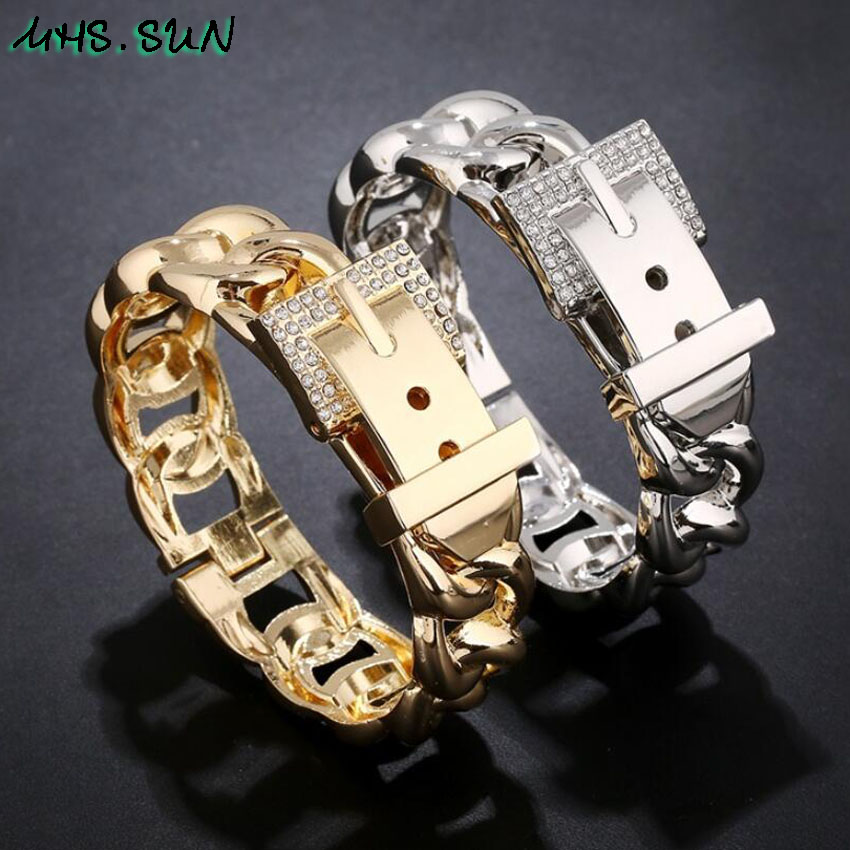 6-4Baroque Women Fashion Bangle Exaggerated Design Girls Ladies European Style Bangle Bracelets Personality Jewelry Gift