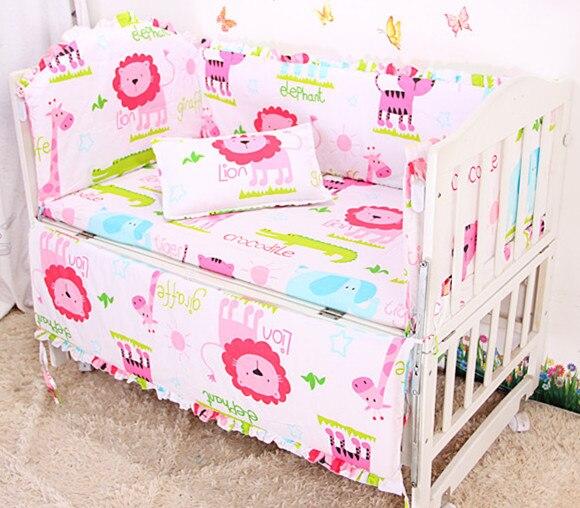 ⓪¡ Promoción! 6 unids Ropa de cama de bebé para la muchacha 100 ...