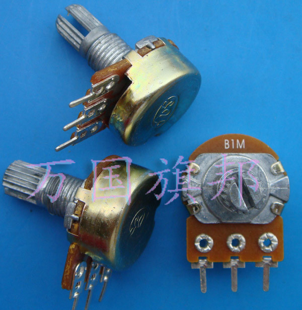 Free Delivery. Crown stores WH148 potentiometer tripods B1M single short shank