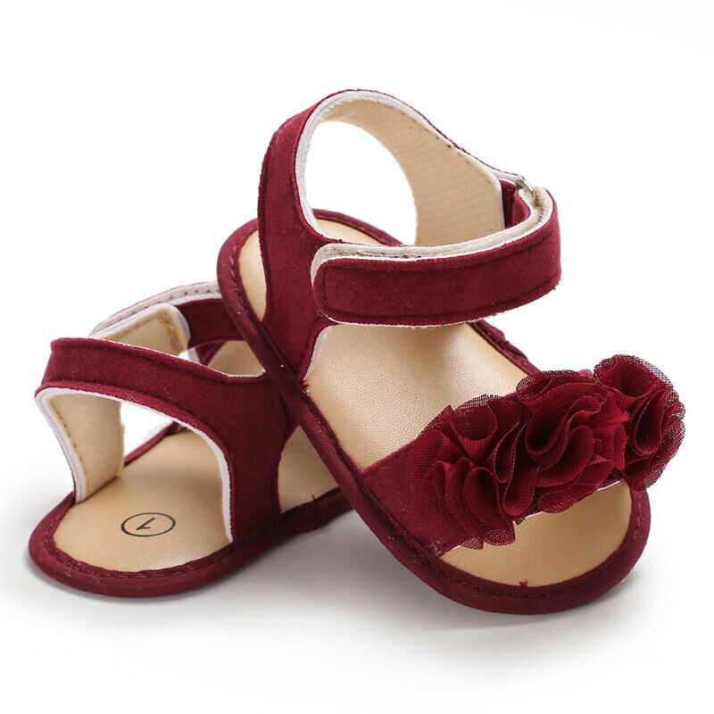 0-18 M בייבי ילדה קיץ יפה סנדלי סניקרס פעוט ילד רך עריסה הראשונה ווקר נעל