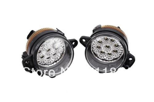LED питается Передние противотуманные фары яркий Белый для Фольксваген Поло 9N3